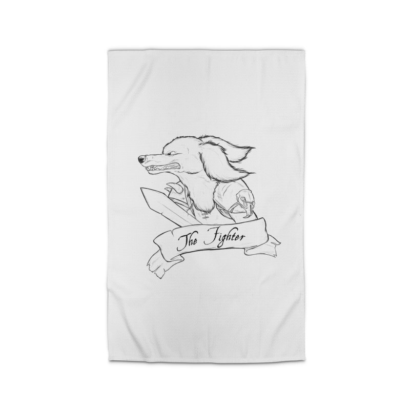 The Fighter Home Rug by DnDoggos's Artist Shop
