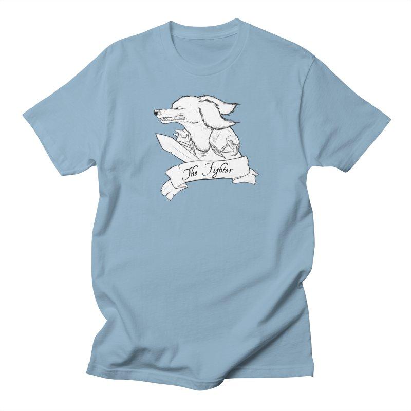 The Fighter Women's T-Shirt by DnDoggos's Artist Shop