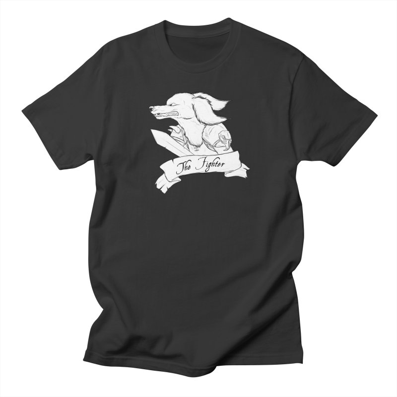 The Fighter Women's T-Shirt by DnDoggos's Artist Shop