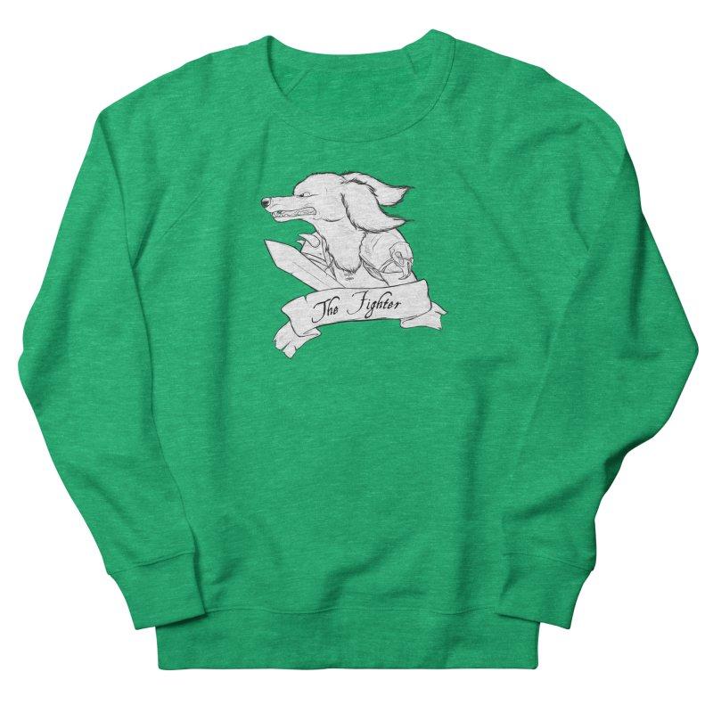 The Fighter Women's Sweatshirt by DnDoggos's Artist Shop