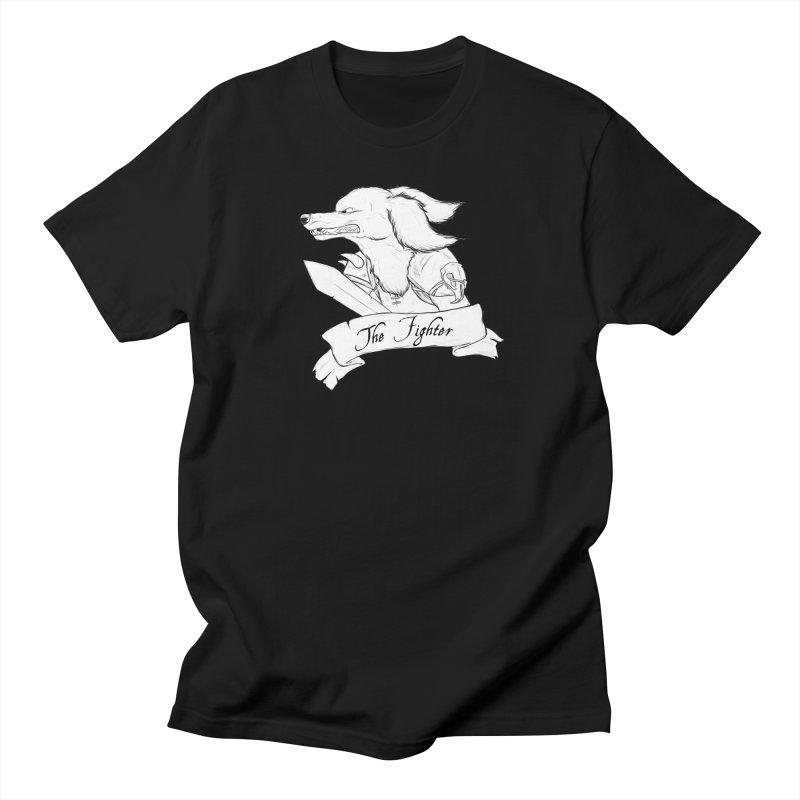 The Fighter Men's Regular T-Shirt by DnDoggos's Artist Shop