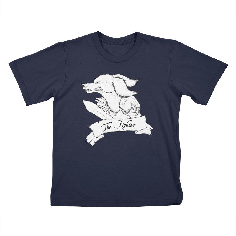 The Fighter Kids T-Shirt by DnDoggos's Artist Shop