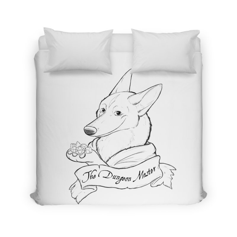 The Dungeon Master Home Duvet by DnDoggos's Artist Shop