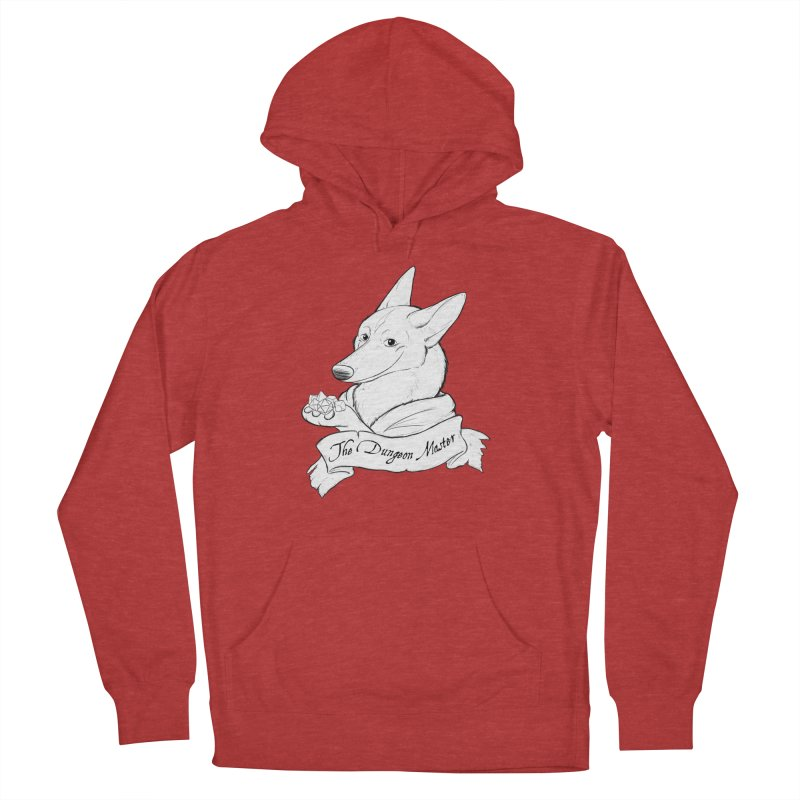 The Dungeon Master Women's French Terry Pullover Hoody by DnDoggos's Artist Shop