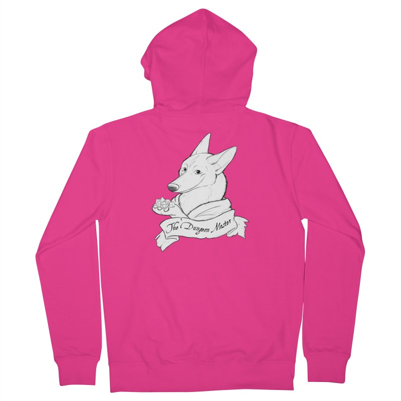The Dungeon Master Men's French Terry Zip-Up Hoody by DnDoggos's Artist Shop