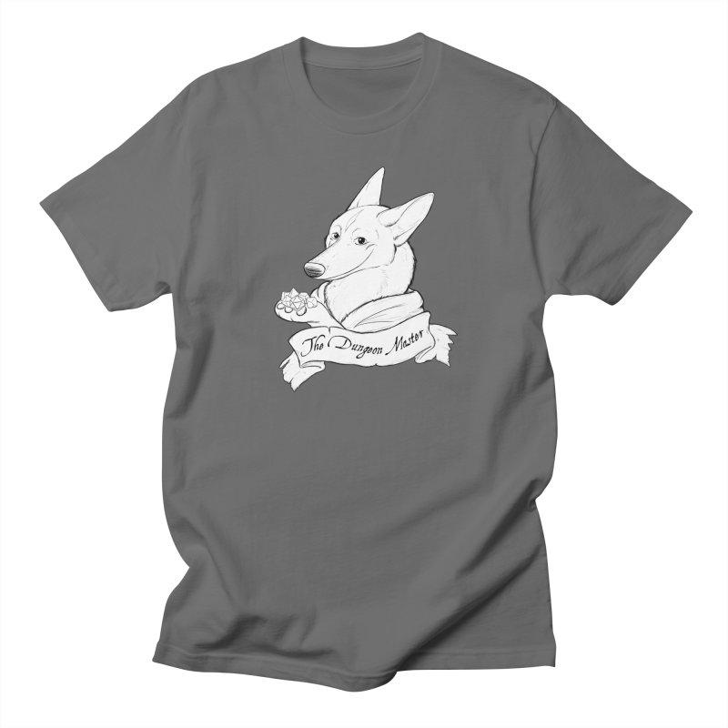 The Dungeon Master Men's T-Shirt by DnDoggos's Artist Shop