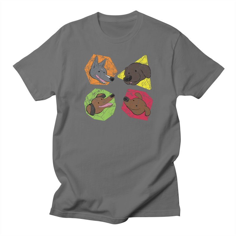 Happy Doggos and Dice Men's T-Shirt by DnDoggos's Artist Shop