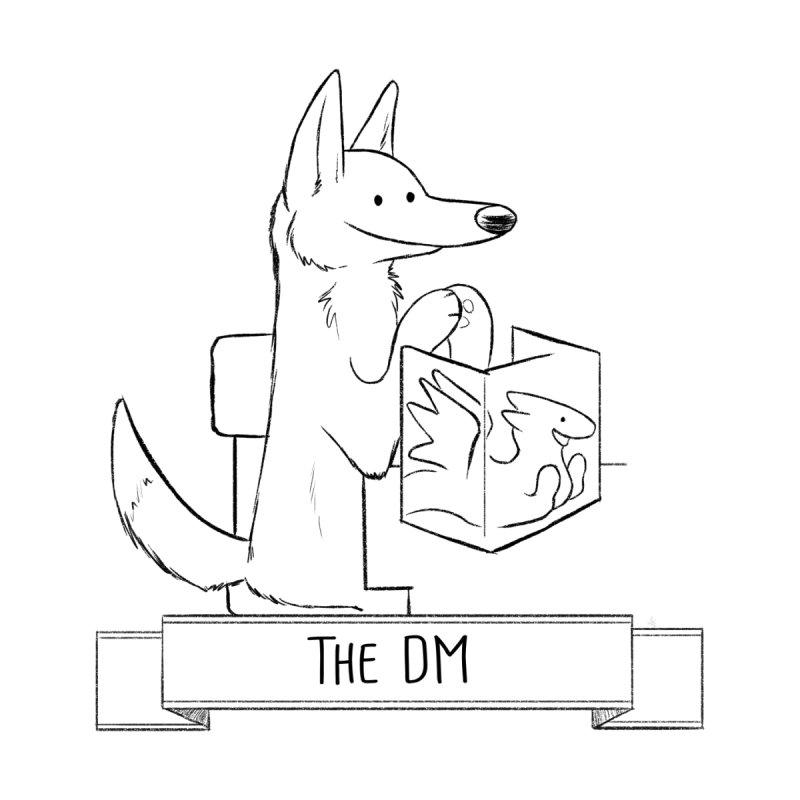 The DM and Screen Men's T-Shirt by DnDoggos's Artist Shop