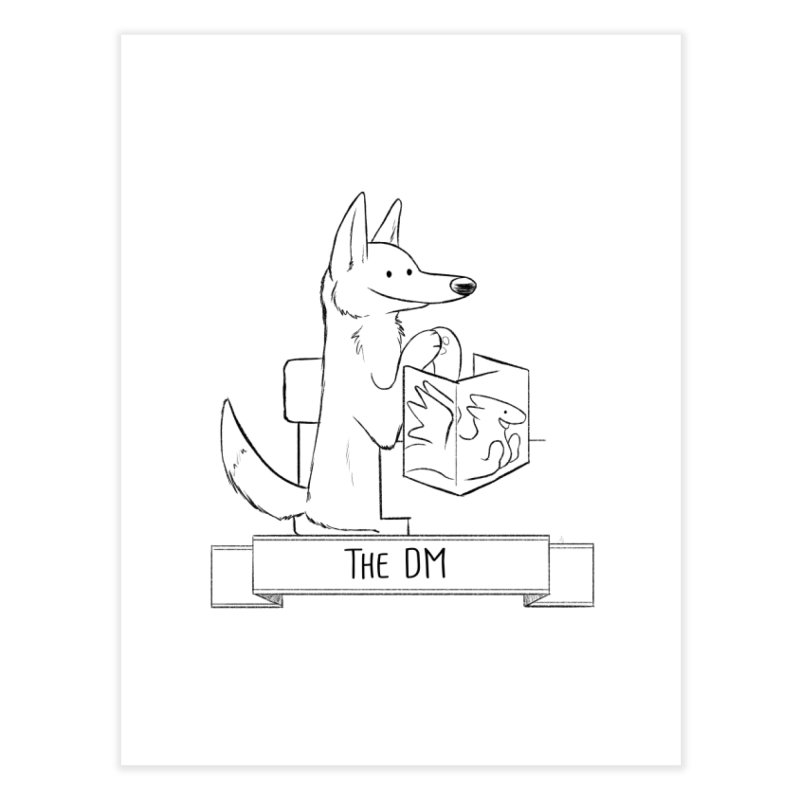 The DM and Screen Home Fine Art Print by DnDoggos's Artist Shop