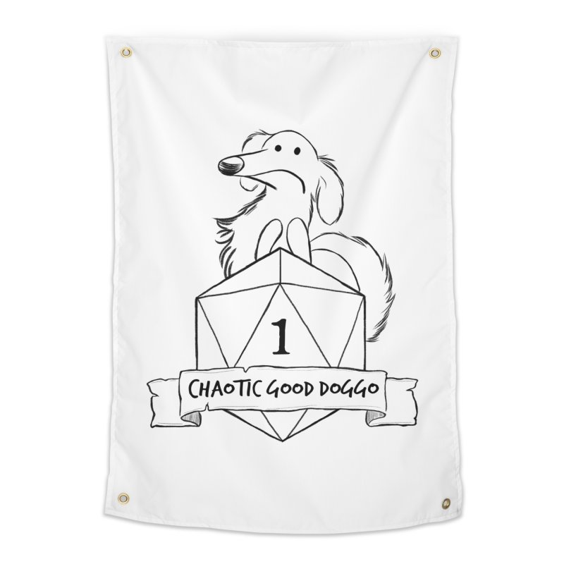 Worried Pickles the Chaotic Good Doggo Home Tapestry by DnDoggos's Artist Shop