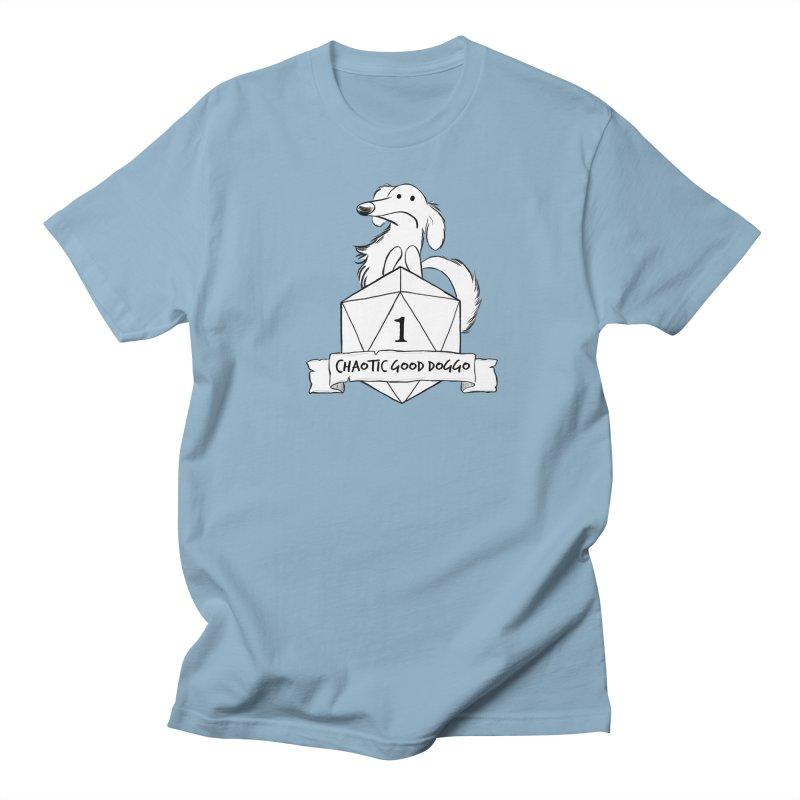 Worried Pickles the Chaotic Good Doggo Men's Regular T-Shirt by DnDoggos's Artist Shop