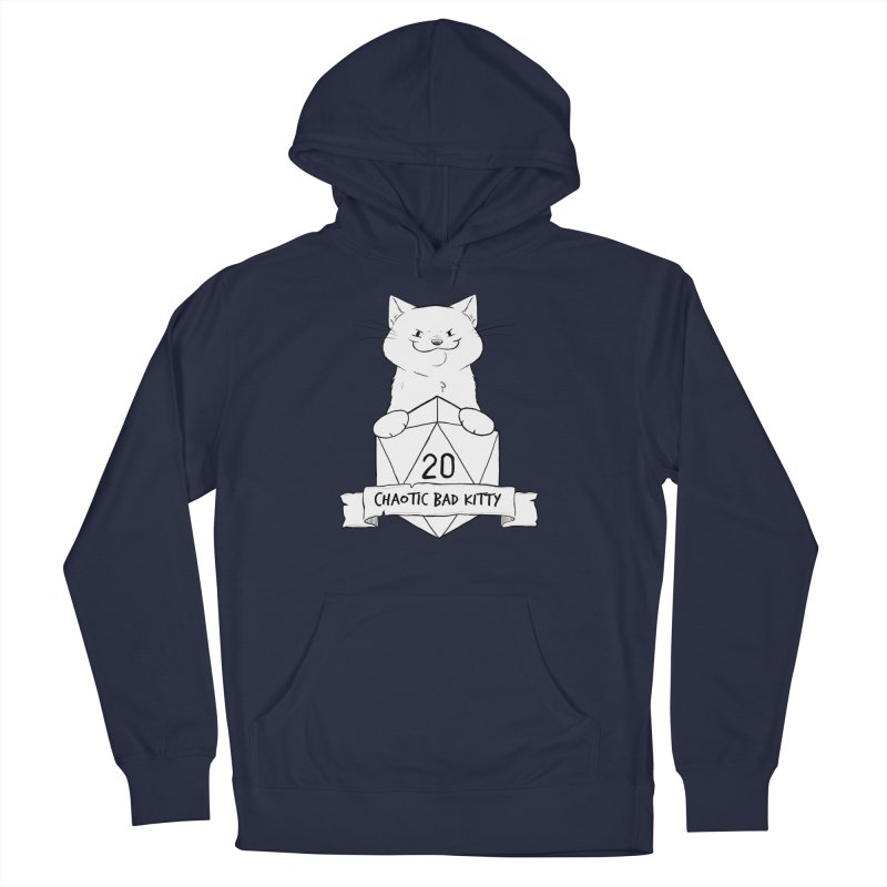 Chaotic Bad Kitty Men's Pullover Hoody by DnDoggos's Artist Shop