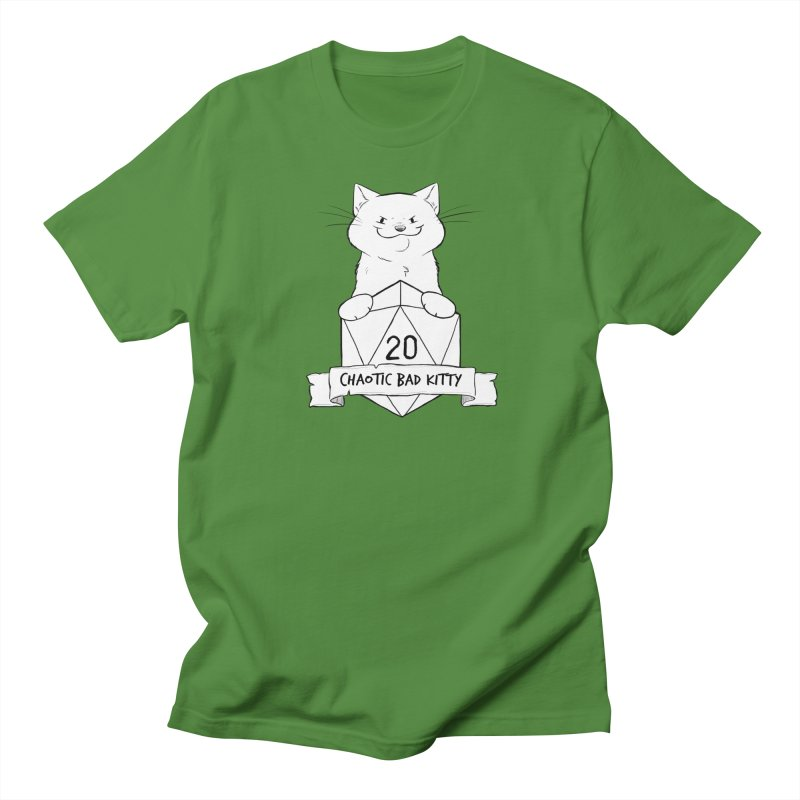Chaotic Bad Kitty Men's T-Shirt by DnDoggos's Artist Shop