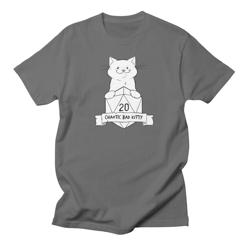 Chaotic Bad Kitty Men's T-Shirt by DnDoggos's Artist Shop