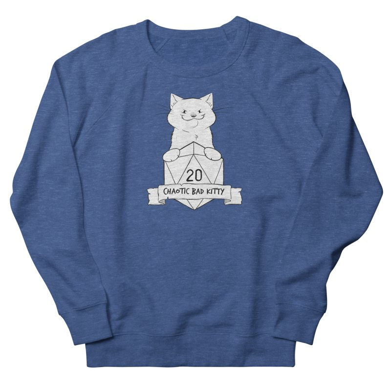 Chaotic Bad Kitty Men's Sweatshirt by DnDoggos's Artist Shop