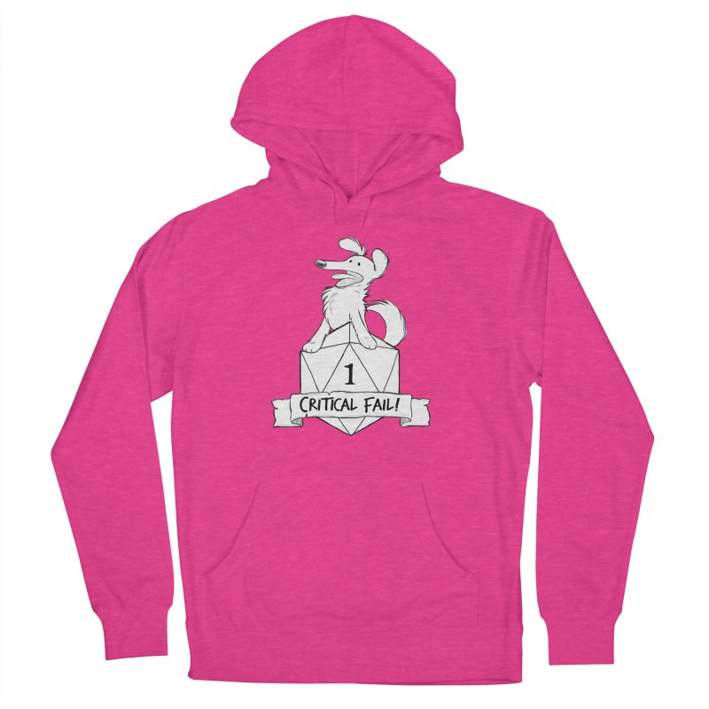 Critical Fail! - Pickles Women's French Terry Pullover Hoody by DnDoggos's Artist Shop