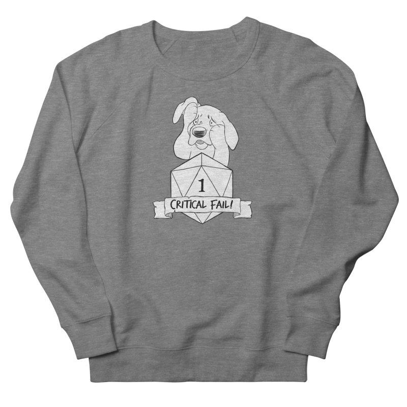 Critical Fail! - Tonka Men's French Terry Sweatshirt by DnDoggos's Artist Shop