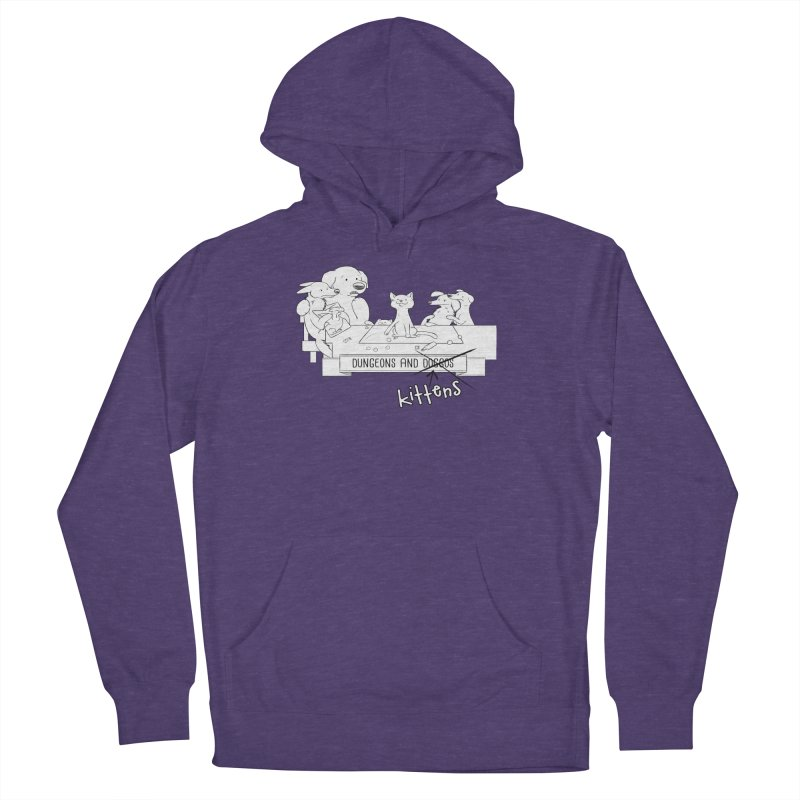 Dungeons and Kittens Women's French Terry Pullover Hoody by DnDoggos's Artist Shop