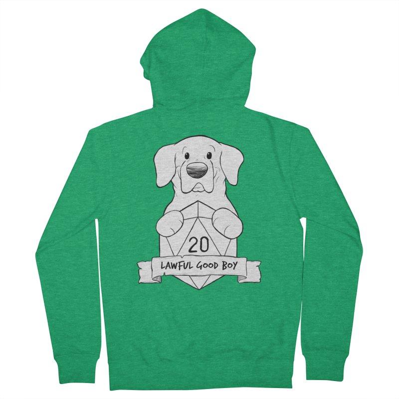 Lawful Good Boy Men's Zip-Up Hoody by DnDoggos's Artist Shop