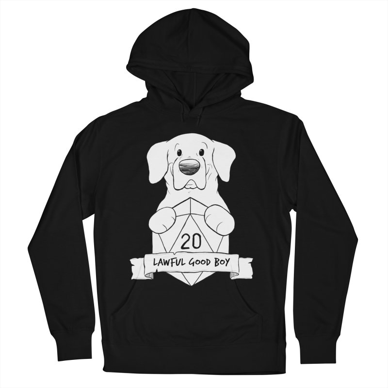 Lawful Good Boy Women's French Terry Pullover Hoody by DnDoggos's Artist Shop
