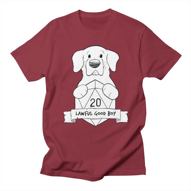 Lawful Good Boy Women's Regular Unisex T-Shirt by DnDoggos's Artist Shop