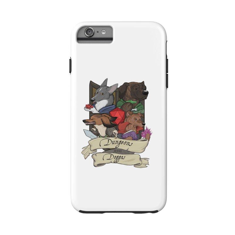 DnDoggos Emblem Color Accessories Phone Case by DnDoggos's Artist Shop