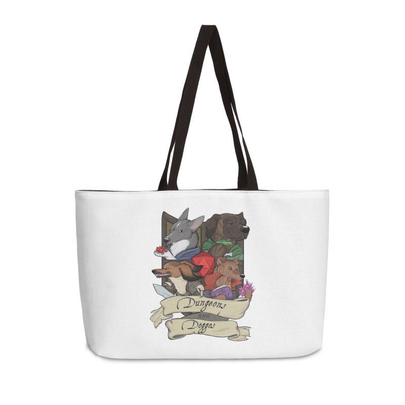 DnDoggos Emblem Color Accessories Bag by DnDoggos's Artist Shop