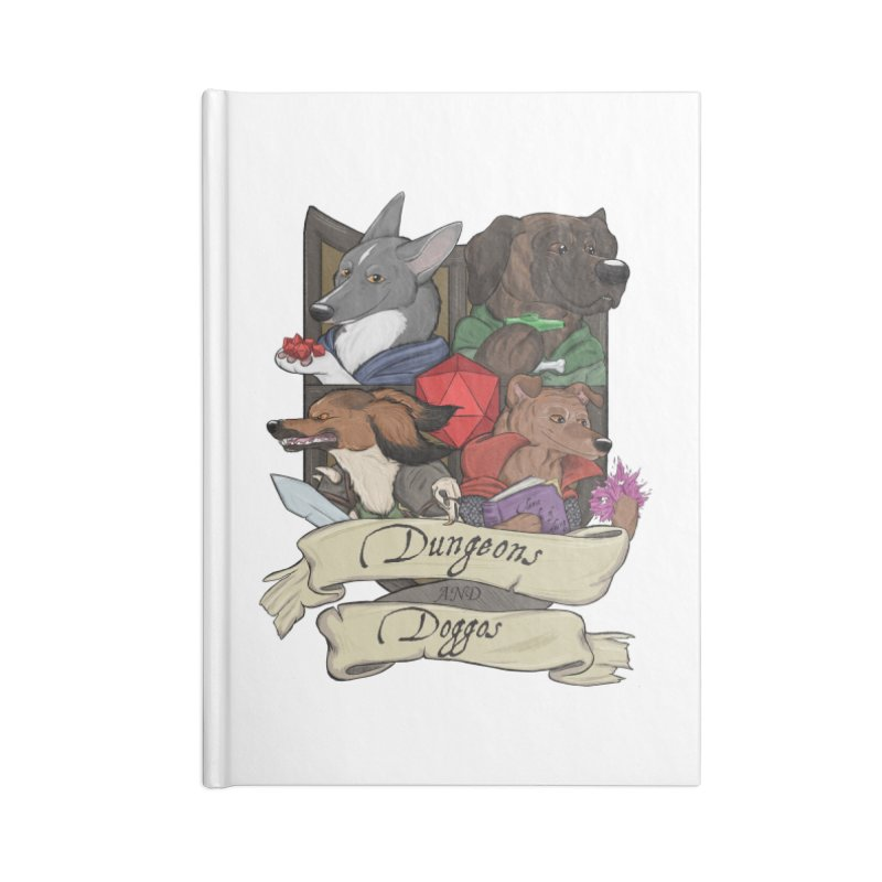 DnDoggos Emblem Color Accessories Notebook by DnDoggos's Artist Shop