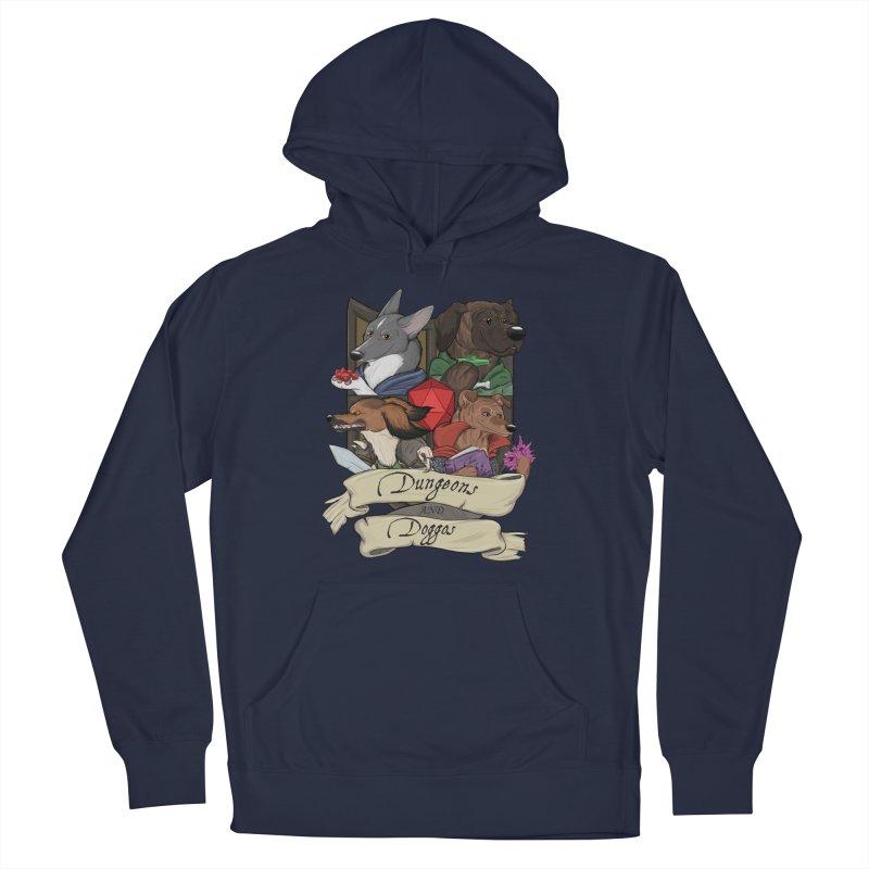 DnDoggos Emblem Color Men's Pullover Hoody by DnDoggos's Artist Shop