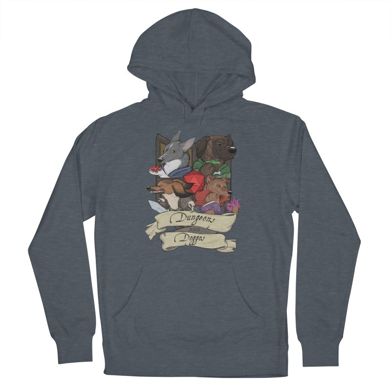 DnDoggos Emblem Color Women's French Terry Pullover Hoody by DnDoggos's Artist Shop