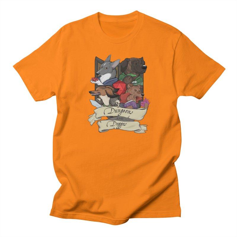 DnDoggos Emblem Color Men's Regular T-Shirt by DnDoggos's Artist Shop