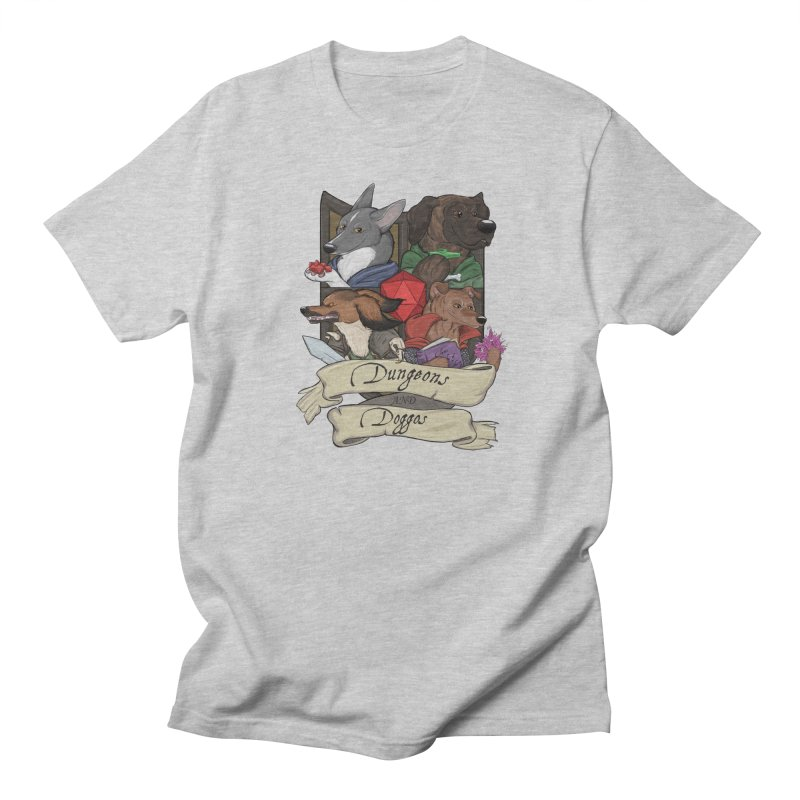 DnDoggos Emblem Color Men's T-Shirt by DnDoggos's Artist Shop