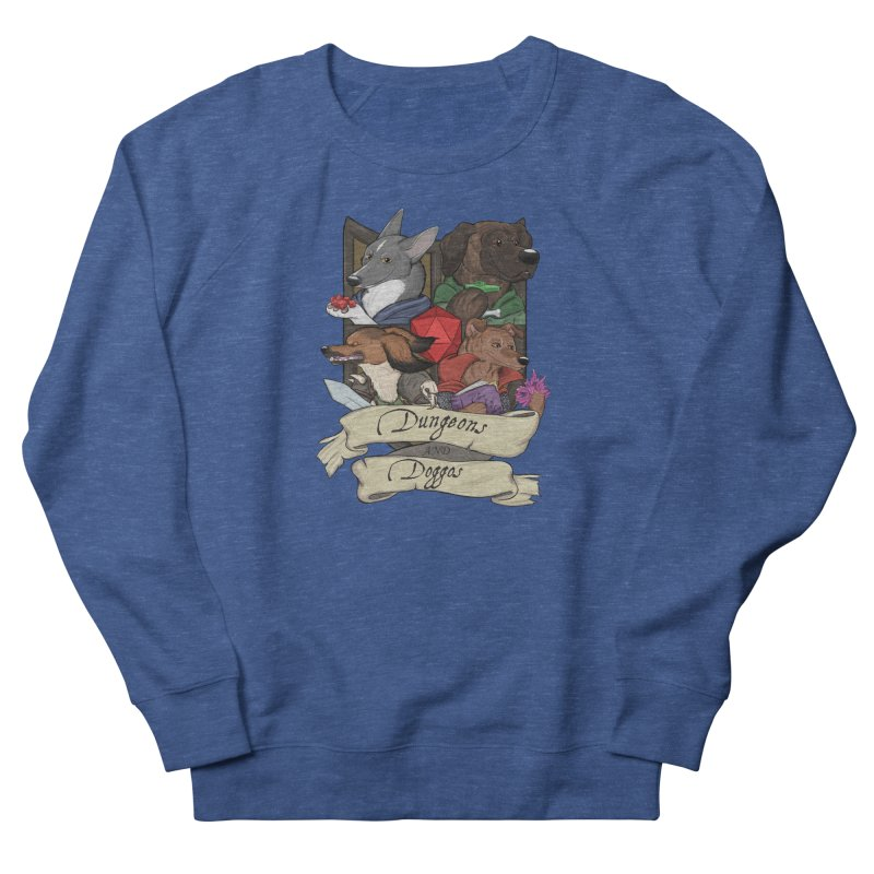 DnDoggos Emblem Color Men's Sweatshirt by DnDoggos's Artist Shop
