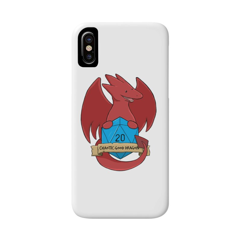 Chaotic Good Dragon Color Accessories Phone Case by DnDoggos's Artist Shop