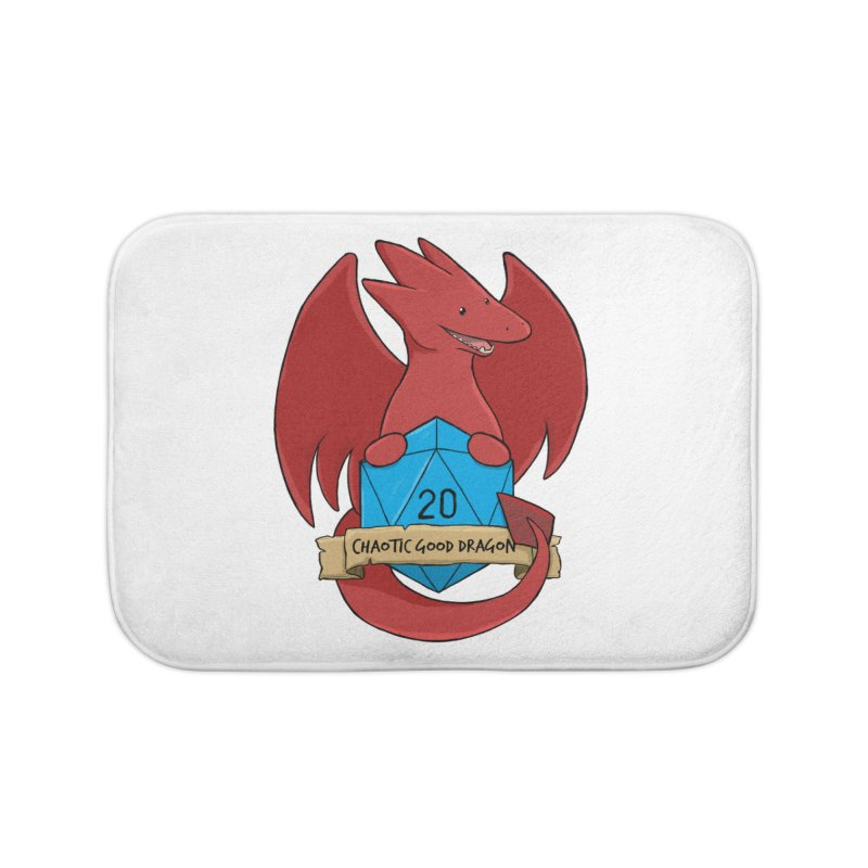 Chaotic Good Dragon Color Home Bath Mat by DnDoggos's Artist Shop