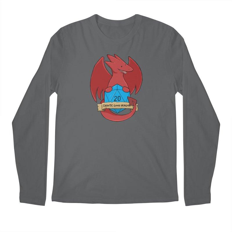 Chaotic Good Dragon Color Men's Longsleeve T-Shirt by DnDoggos's Artist Shop