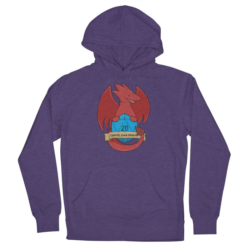 Chaotic Good Dragon Color Women's French Terry Pullover Hoody by DnDoggos's Artist Shop