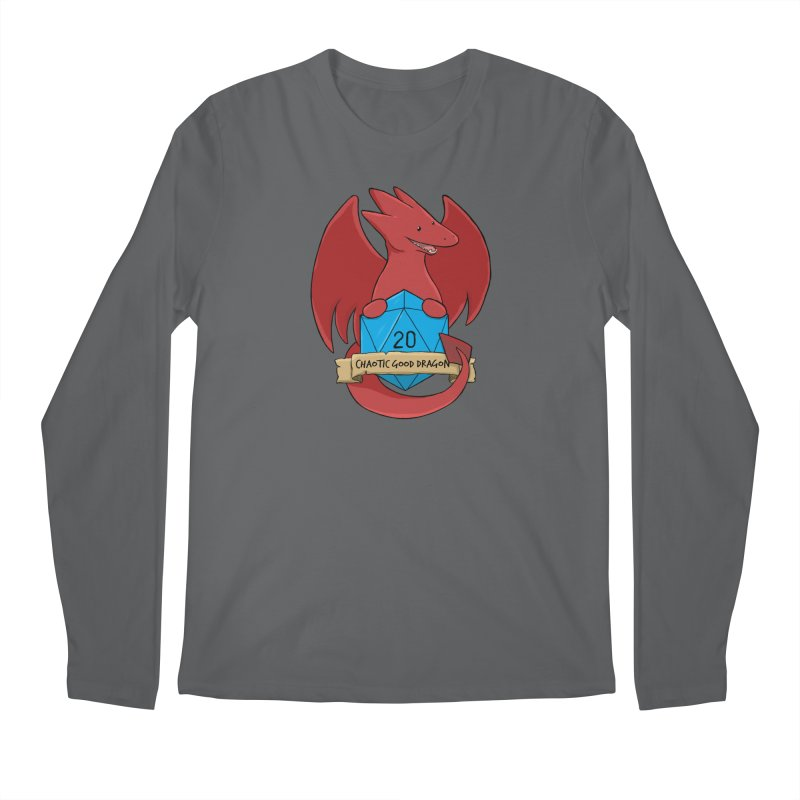 Chaotic Good Dragon Color Men's Longsleeve T-Shirt by DnDoggos's Artist Shop