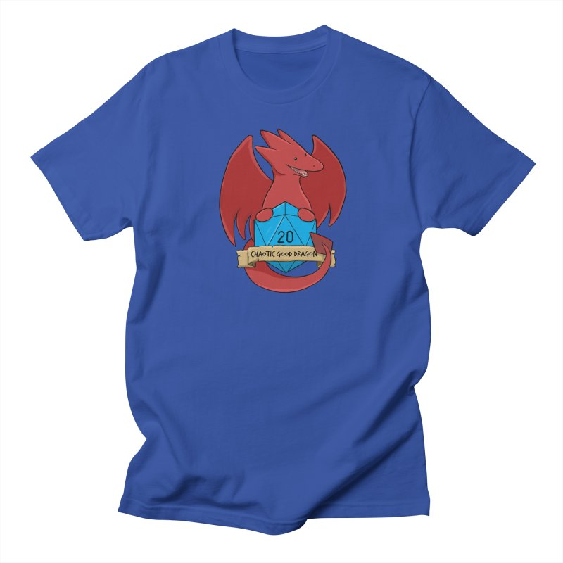 Chaotic Good Dragon Color Men's Regular T-Shirt by DnDoggos's Artist Shop