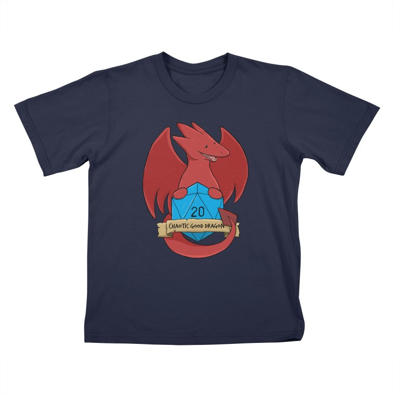 Chaotic Good Dragon Color Kids T-Shirt by DnDoggos's Artist Shop