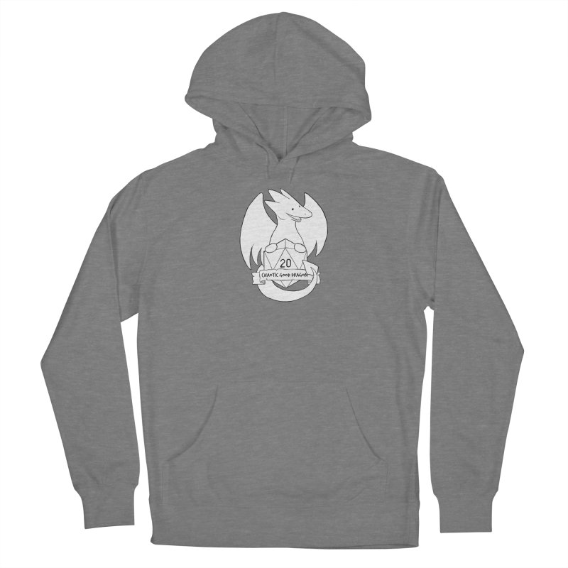 Chaotic Good Dragon Black and White Women's Pullover Hoody by DnDoggos's Artist Shop