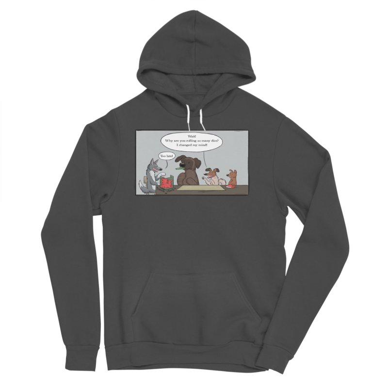 Wait ... Why Are You Rolling So Many Dice? Women's Sponge Fleece Pullover Hoody by DnDoggos's Artist Shop