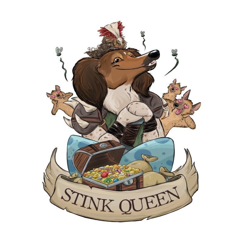 Stink Queen Men's Zip-Up Hoody by DnDoggos's Artist Shop