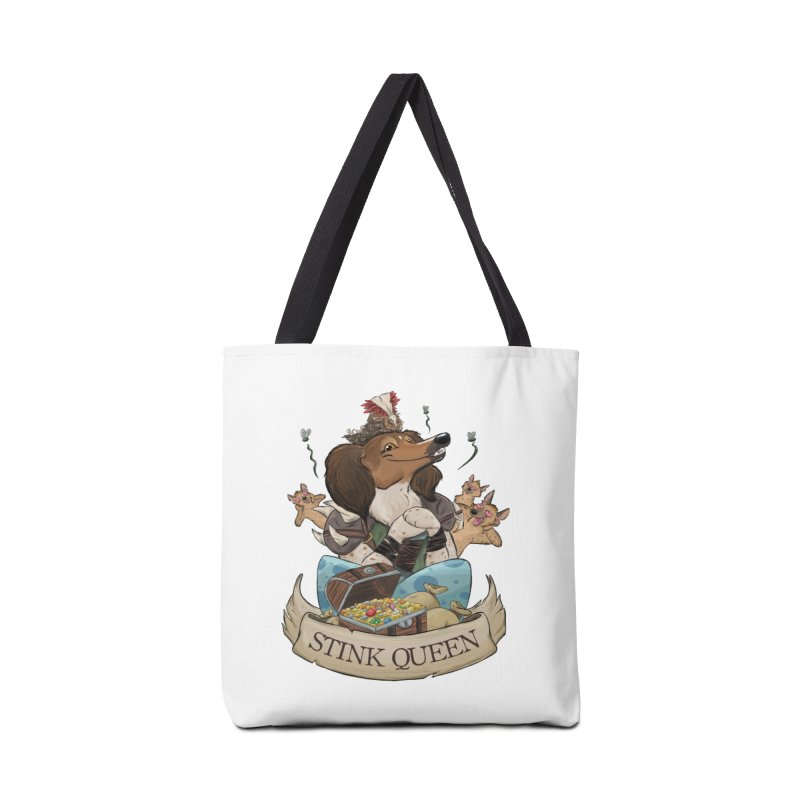 Stink Queen Accessories Tote Bag Bag by DnDoggos's Artist Shop