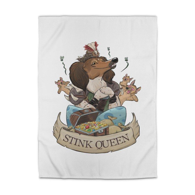 Stink Queen Home Rug by DnDoggos's Artist Shop