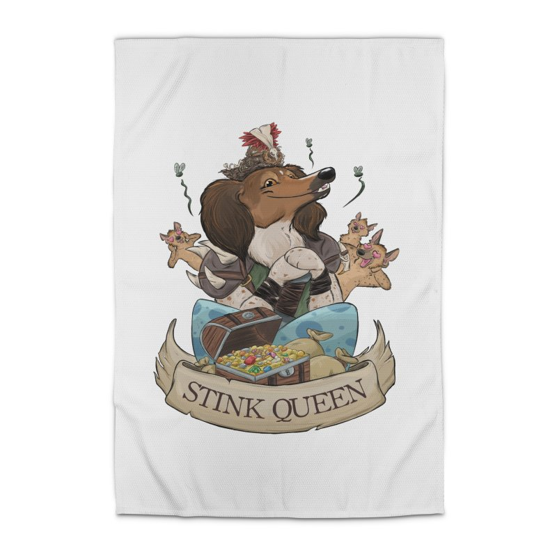 Stink Queen Home Rug by DnDoggos's Artist Shop