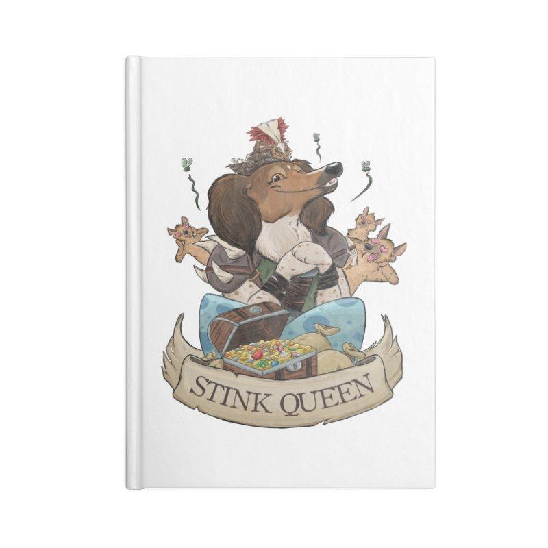 Stink Queen Accessories Notebook by DnDoggos's Artist Shop