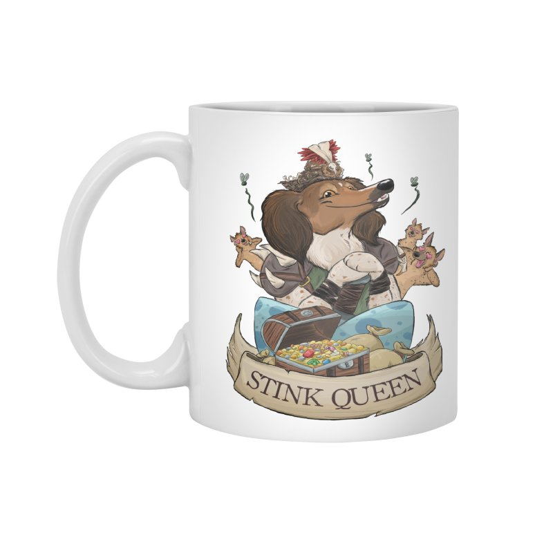 Stink Queen Accessories Mug by DnDoggos's Artist Shop