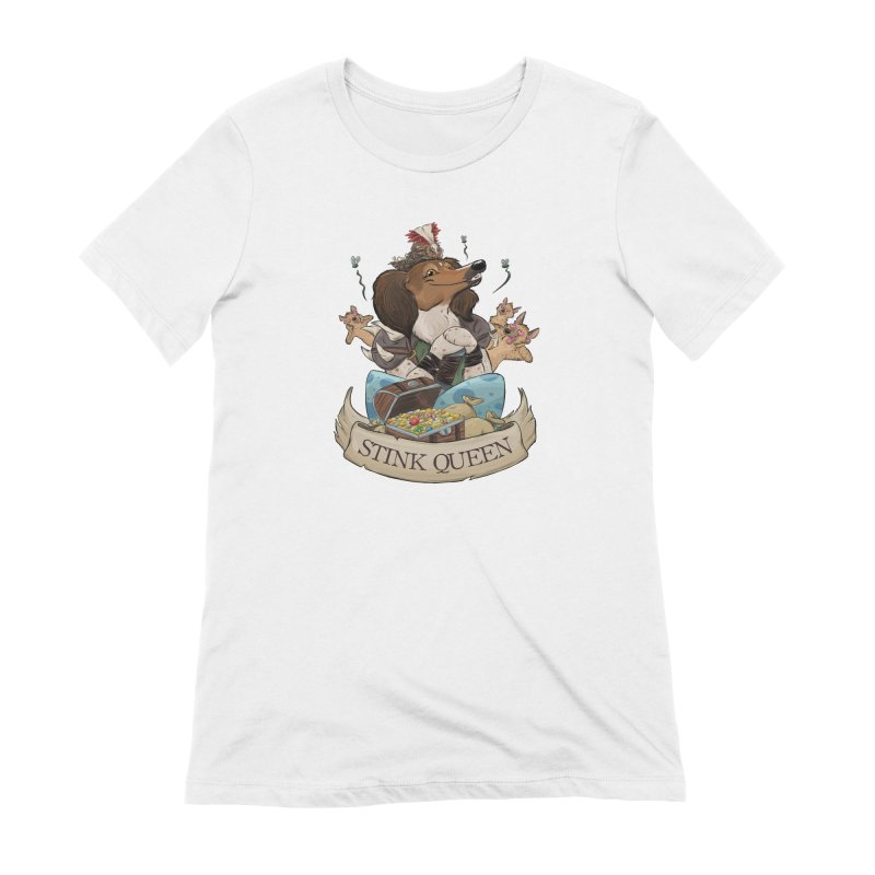 Stink Queen Women's Extra Soft T-Shirt by DnDoggos's Artist Shop