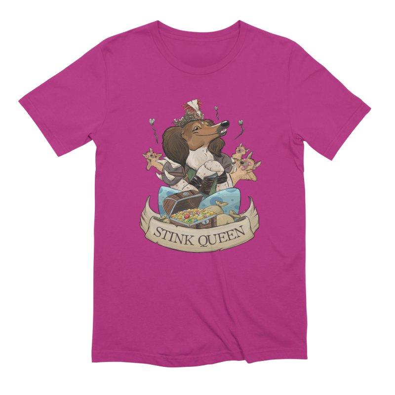 Stink Queen Men's Extra Soft T-Shirt by DnDoggos's Artist Shop